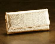 ラッキーショップの黄金の蛇財布