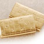 ラッキーショップの金の財布!ミリオンゴールド!
